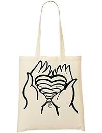 Heart In Hands Bolso De Mano Bolsa De La Compra