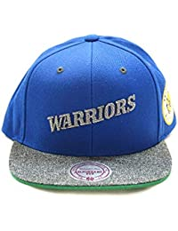 Mitchell   Ness Gorras Golden State Warriors Melange Patch Blue Grey  Snapback 9405e2d6d89