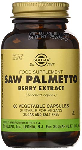 Solgar - Saw Palmetto - Extrait de baies - 60 gélules végétariennes