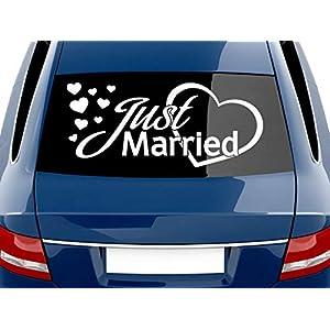 Aufkleber Hochzeit Auto Deine Auto Teilede
