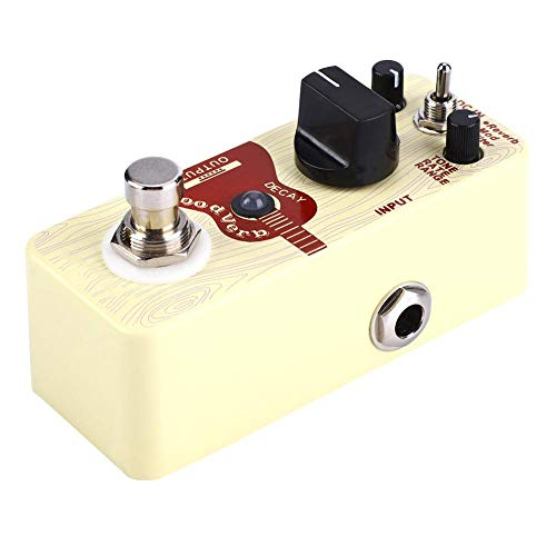 Alomejor Acoustic Guitar Reverb Effect Pedal Device with Reverb Mod Filter Three Reverb Modes (Sound Devices Mix)