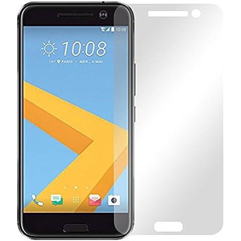 2 x Slabo protector de pantalla HTC 10 lámina protectora de pantalla lámina protectora (protector de pantalla reducido, a causa de la pantalla curvada)