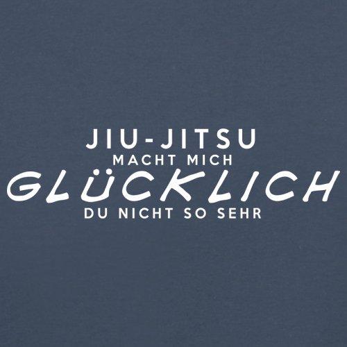 Jiu-Jitsu macht mich glücklich - Herren T-Shirt - 13 Farben Navy