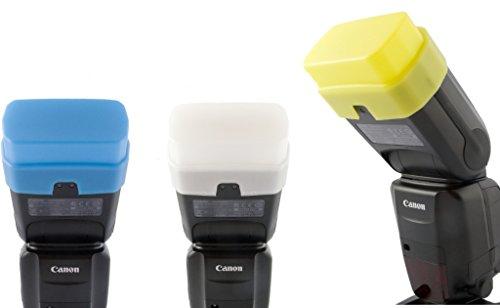 Set Diffusori 3 colori di PROFOX per Canon Speedlite 600EX-RT