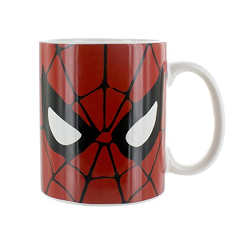 (Marvel Comics Spiderman Tasse, Keramik, Multi, 8 x 12 x 9 cm)