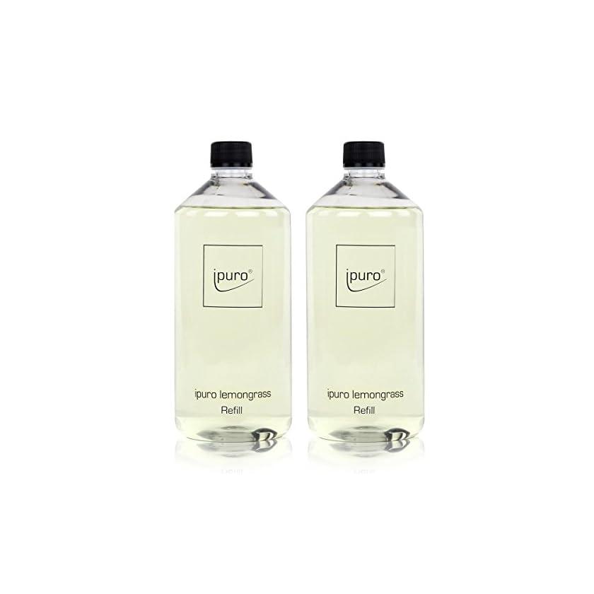 Ipuro-lemongrass-Refill-1000ml-Nachfllflasche-Raumduft-2er-Pack