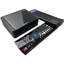 Blusens WebTv W + Smart Remote 2 - Pack de reproductor multimedia y mando con teclado, color negro