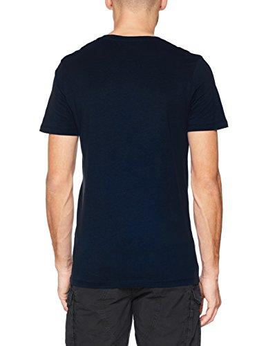 JACK & JONES Herren T-Shirt Jornewraffa Tee SS Crew Neck NOOS Blau (Total Eclipse Fit: REG)