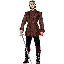 Forum Novelties AC574abrigo de Rey Medieval vestido (UK 42–44)