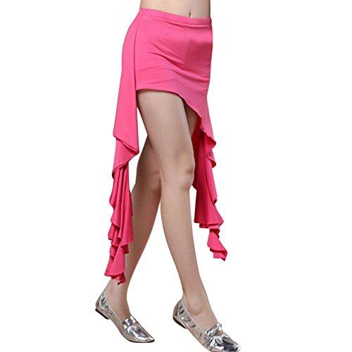 Kostüm Einfache Salsa - Frauen Bauchtanz Kleider Kostüme Rüschen Geöffnete Röcke Tanzen Kleidung Zubehör