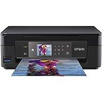 Epson Expression Home XP-452 3-in-1 Tintenstrahl-Multifunktionsgerät Drucker (Scanner, Kopierer, WiFi 6,8 cm Display, Einzelpatronen, 4 Farben, DIN A4, Amazon Dash Replenishment-fähig) schwarz