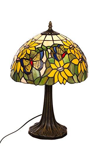 Tischlampe im Tiffany Style, Tiff 138, Tischlampe Motiv Lampe , Dekorationslampe, Tiffany Style, Glaslampe, Leuchte ,Tischlampe, Stehleuchte, Stehlampe, Leuchte Lampe