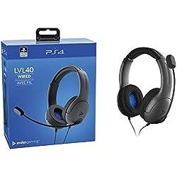 Casque LVL40 Stéréo Sony Playstation - noir