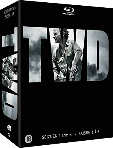 The Walking Dead - L'intégrale des saisons 1 + 2 + 3 + 4 + 5 + 6 Non censuré (Coffret 26 Blu-ray)