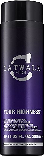 TIGI Catwalk Your Highness Elevating Shampoo 300 ml, 1er Pack (1 x 300 ml) (Hydrating Hairspray)