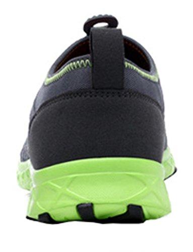 Geval Herren Schuhe Draussen Sport Wasser Mesh Atmungsaktiv Grau Grün
