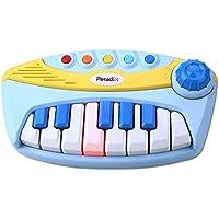 Peradix Giocattolo Musicale Mini Pianoforte Bambini con 5 Canzoni per i Bambini