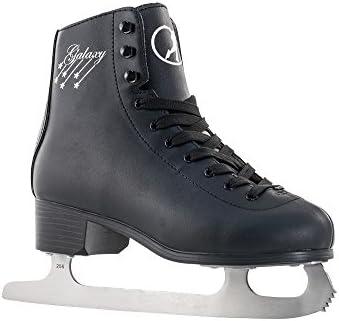 Sfr Galaxy - Patines de hielo para patinaje artístico negro negro Talla:UK 4 EU37 US5