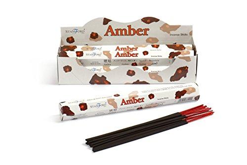 Stamford Ambre 6 boîtes de 20 bâtonnets d'encens