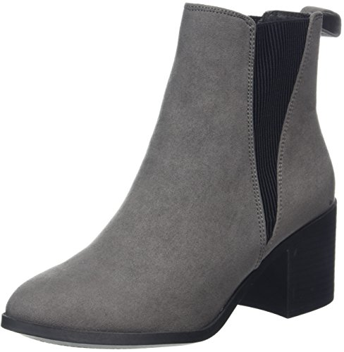 Ballet Boot (New Look Damen EAN Chelsea Boots, Grey (Mid Grey), 39 EU)