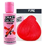 Crazy Color Fire. Semi-Permanent Hair Dye 100ml