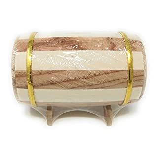 Wooden Barrel Money Box to Decorate