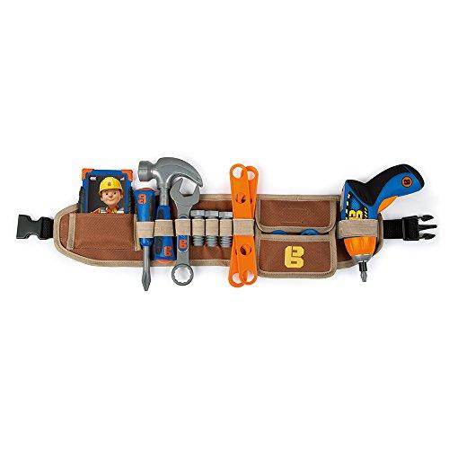 Baumeister Kind Kostüm Der Bob - Smoby 360152 - Bob der Baumeister Werkzeuggürtel XL
