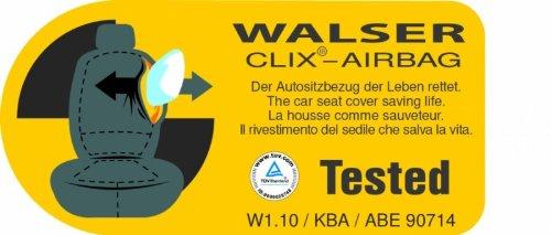 Walser 10536/Coprisedili per Citroen Jumper Poliestere Sedile Singolo e Doppio Bank Anteriore Anno di Costruzione dal 06//2014/ /Oggi