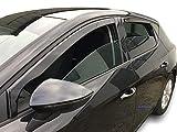 J&J AUTOMOTIVE | Deflecteurs d'air déflecteurs de Vent Compatible avec Seat Leon III 5 Portes 2013 - prés 4 pièces