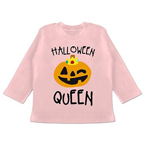oween Queen Kostüm - 3-6 Monate - Babyrosa - BZ11 - Baby T-Shirt Langarm ()