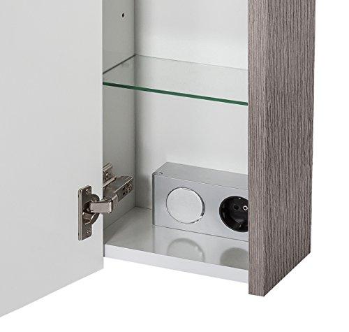 Schildmeyer Spiegelschrank esche grau - 4