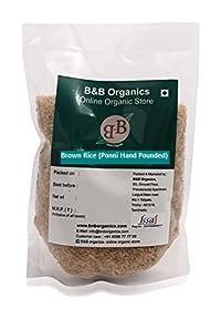 B&B Organics Brown Rice - Hand Pounded, 5 kg