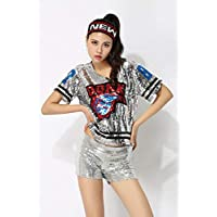 FXC - Disfraz de hip hop para mujer