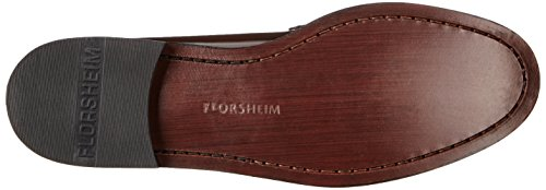 Florsheim Berkley Breit Leder Slipper Burgundy glWkuv