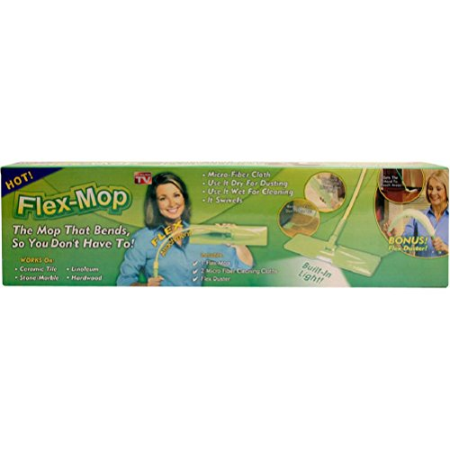 Fun Daisy Fleximop Cleaner Duster Floor mop Flexi come visto in (Giorno Chair Pad)