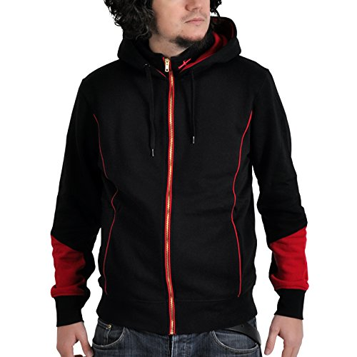 Assassins Creed Kapuzen Jacke Rogue Kappu-Jacke lizenziert (Creed Kapuze Assassins)