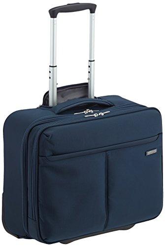 American Tourister  Trolley para portátiles, 39 cm, 27 L, Azul