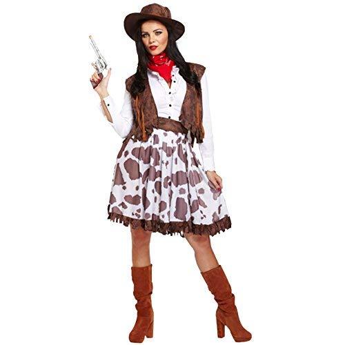 WILD WEST WESTERN COWGIRL ADULT LADIES WOMENS COSTUME (disfraz)