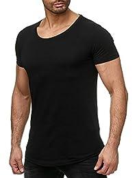 Redbridge Herren T-Shirt Golden Silver Boy Oversized Longshirt Freizeitshirt Longtee