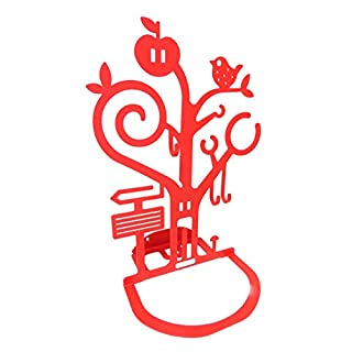 ferrovivo® Ambrogio Jewellery Tray–Metal Red