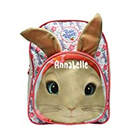 Personalised Official Lily Bobtail 3D Ears Peter Rabbit Roxy Backpack - TV Movie Animation Kid
