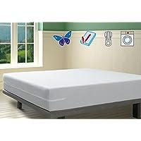 SAVEL Funda colchón Rizo Microfibra, elástica y ajustable, 150x190/200 (para camas de 150)