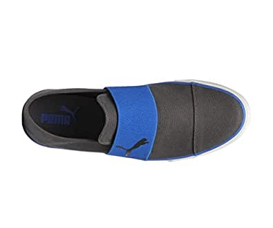 Puma Men's Alpha Slip On Cv Grey Sneakers - 6 UK/India (39 EU)(36622004)