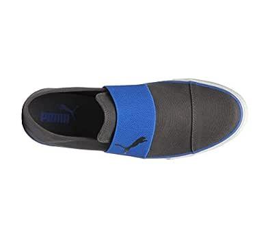 Puma Unisex Alpha Slip On Cv Asphalt-Lapis Blue Sneakers - 4 UK/India (37 EU)(36622004)