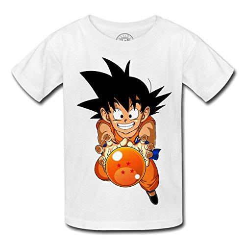 T-shirt enfant dragon bal dbz gokusangoku manga japan anime
