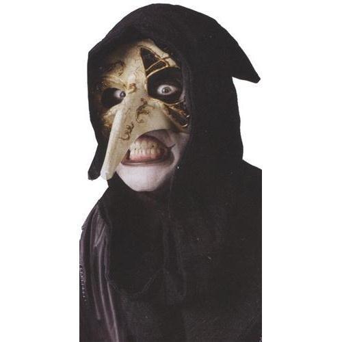 Halloween Kost¨¹me Maske Gesicht Maske Kost¨¹m St¨¹tze Scary Creepy Schreckliche Maske Monster Maske Venezianische Rabenmaske f¨¹r Maskerade Make-up Party