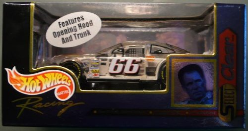 1999 - Hot Wheels Racing - Select Clear - Darrell Waltrip - No  66 Big  K-Mart Ford Taurus - 1:43 Die Cast Replica Car - NASCAR by Hot Wheels