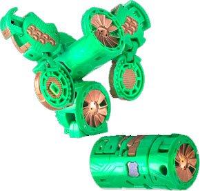 Bakugan Gundalian Invaders - Battle Gear - Ventus VILANTOR GEAR (Green) [Copper]