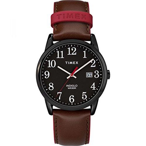 Timex Orologio Analogico Automatico Unisex Adulto con Cinturino in Pelle TW2R62300