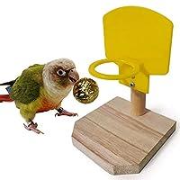 Bird Toys - Parrot Mini Basket Educational Toy Bird Puzzle Training Intelligence Development Toy Basketball Rack With Ball Bird Toy